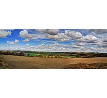 Tynedale Panorama Photographic Print