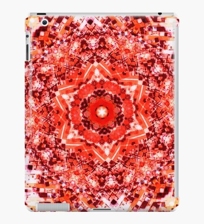 Glitch Kaleidoscope #5 iPad Case/Skin