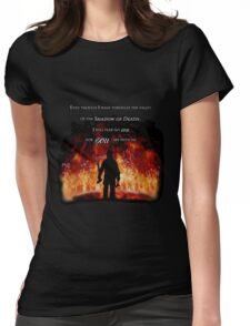 Firefighter Tribute Womens Fitted T-Shirt