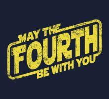 May The Fourth Be With You Kids Clothes