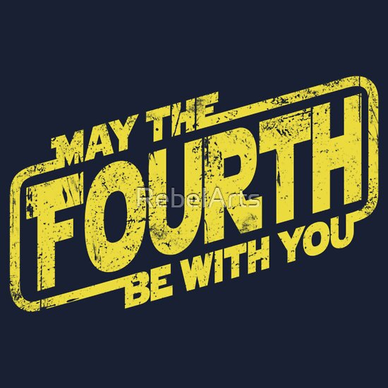 """May The Fourth Be With You Baby Clothes: """"May The Fourth Be With You"""" Kids Clothes By RebelArts"""