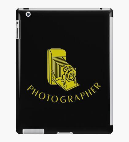 Photographer VRS2 iPad Case/Skin