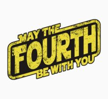 May The Fourth Be With You (sticker) by RebelArts
