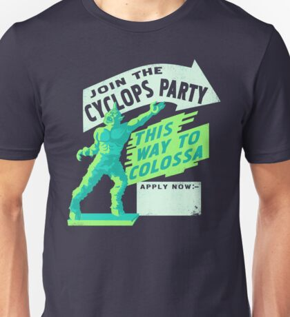 Cyclops Party Unisex T-Shirt