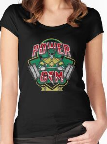 Power Gym Women's Fitted Scoop T-Shirt