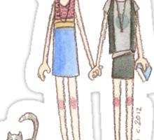 Lizzie Bennet Diaries - Kitty, Lydia, Mary Sticker