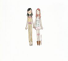 Lizzie Bennet Diaries - Charlotte and Lizzie by MartinaC