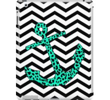Mint Leopard Anchor iPad Case/Skin