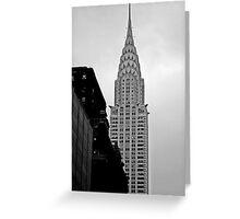 New York [b&w] IV Greeting Card