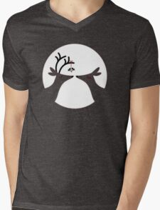 Under The Mistletoe Mens V-Neck T-Shirt