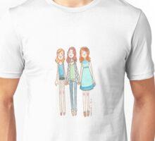 Lizzie Bennet Diaries - Lydia, Lizzie, Jane Unisex T-Shirt