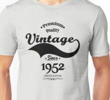 Premium Quality Vintage Since 1952 Limited Edition Unisex T-Shirt