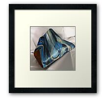 Abstract Palm Frond Sculpture Framed Print