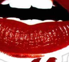 Hot Lips Sticker