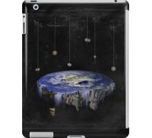 Flat Earth iPad Case/Skin