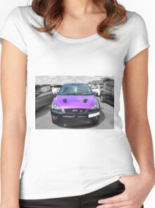 Purple Focus ST Women's Fitted Scoop T-Shirt