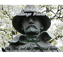 Banner for challenge winner - Statues Photographic Print