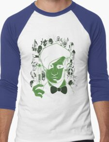 The Most Feared Being - Doctor Who Men's Baseball ¾ T-Shirt