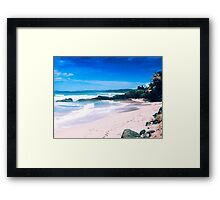 Luquillo Beach, Puerto Rico Framed Print