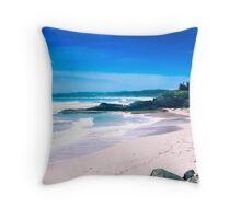 Luquillo Beach, Puerto Rico Throw Pillow