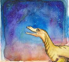 Space Velociraptor by AunJuli
