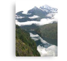 Washington Mountains Metal Print