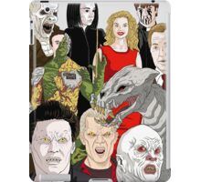 Buffy Big Bad Poster iPad Case/Skin