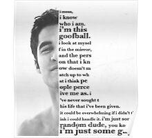 darren quote Poster