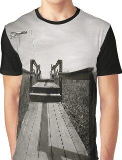 Wooden Bridge Path Graphic T-Shirt