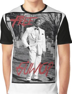 Free Guwop/Gucci/White Suit Graphic T-Shirt