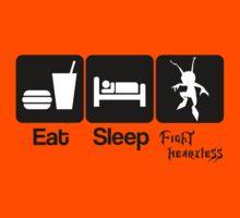Eat Sleep Fight Heartless Kids Clothes