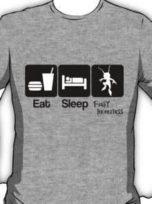 Eat Sleep Fight Heartless T-Shirt