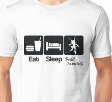 Eat Sleep Fight Heartless Unisex T-Shirt