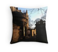 Mackenzie's Tomb Throw Pillow