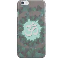 Om and Lotus Flowers  iPhone Case/Skin