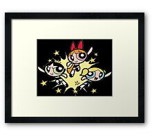 Powerpuff Girls - Boom Framed Print