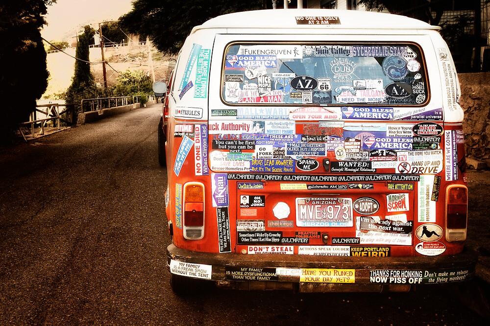 Sticker Shock by Bob Larson