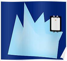 Iceberg Penguin Poster