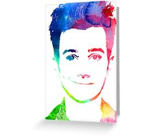 chris rainbow Greeting Card
