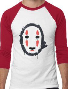 The Mask that Hides Men's Baseball ¾ T-Shirt