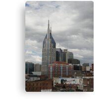 Skyline-Nashville Canvas Print