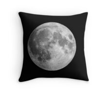 The Moon: Earth's Little Pet Throw Pillow