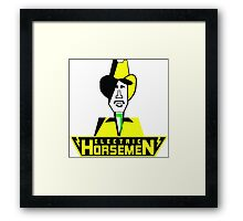 Electric Horsemen (Vintage 1) Framed Print
