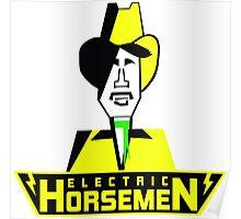 Electric Horsemen (Vintage 1) Poster