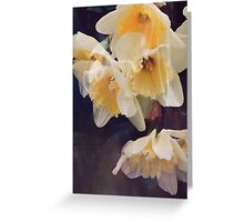 Dusky Yellows Greeting Card