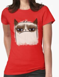 Grumpy Cat Womens Fitted T-Shirt