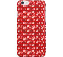 Netflix pattern iPhone Case/Skin