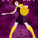 Megara - Warrior Princess by jlechuga
