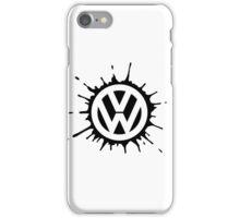 VW splat iPhone Case/Skin