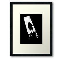 Psychosis (GO AWAY!) - T-Shirt Framed Print